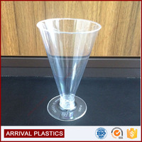 PP material Drinkware stackable 180ml plastic disposable cup