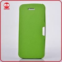 Luxury Ultra Thin Slim Flip Leather Magnetic Cell Phone Case for Iphone 5C