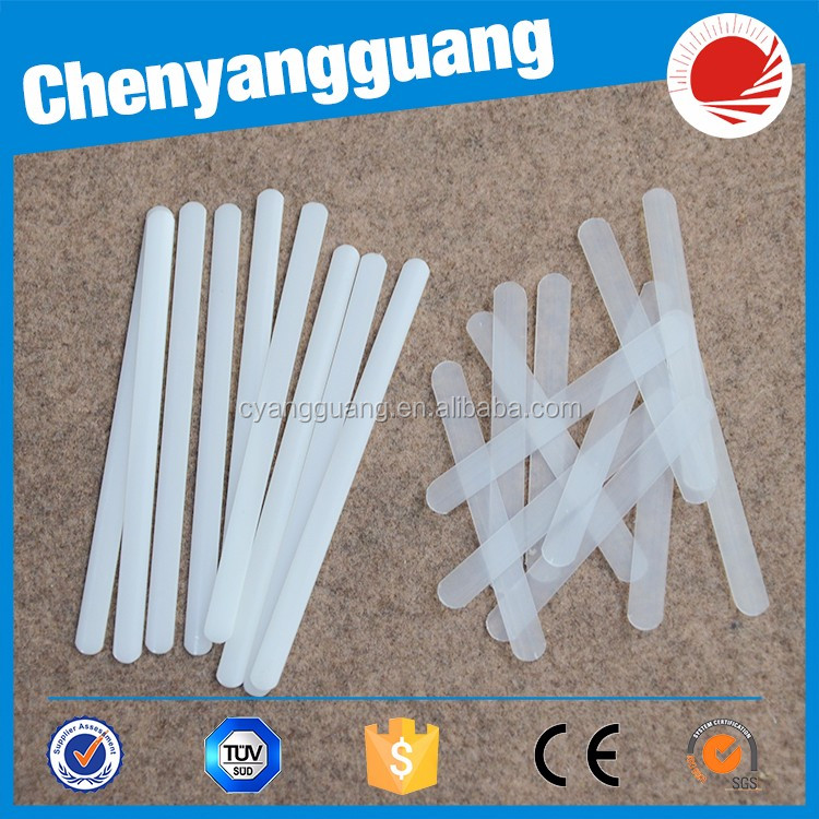 Hot selling white and clear pp plastic boning for bra and corset