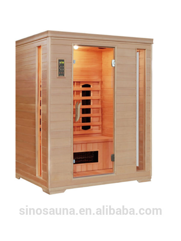 3 person ceramic infrared sauna heater tube sauna individual
