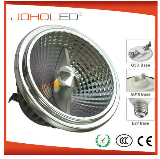 AR111-2*6W dimmable cob led , AR111 cob led spot light G53 LED Ar111 priguivanja LED svjetiljka