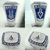 unique custom hot sale stainless steel masonic championship ring