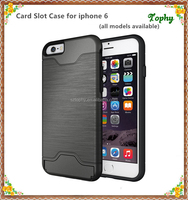Luxury All in one custom branded pc case with leather / factory make plastic hard case for iphone 6 case