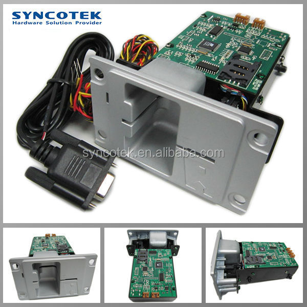 SYNCOTEK Brand manual game vending atm card slot reader