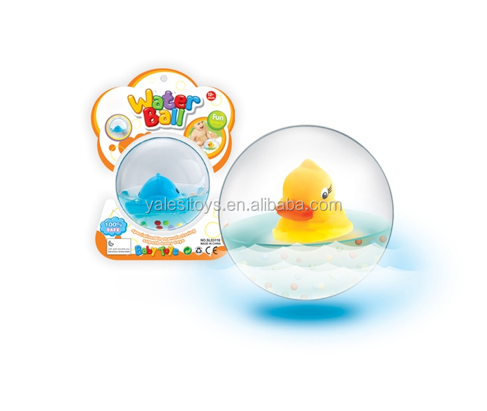 Hot sale baby bath toy water ball