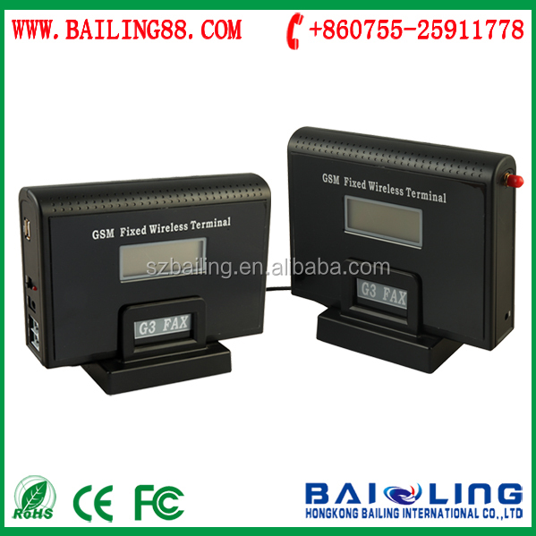 FWT / GSM Fixed Wireless Terminal with SMS Fax