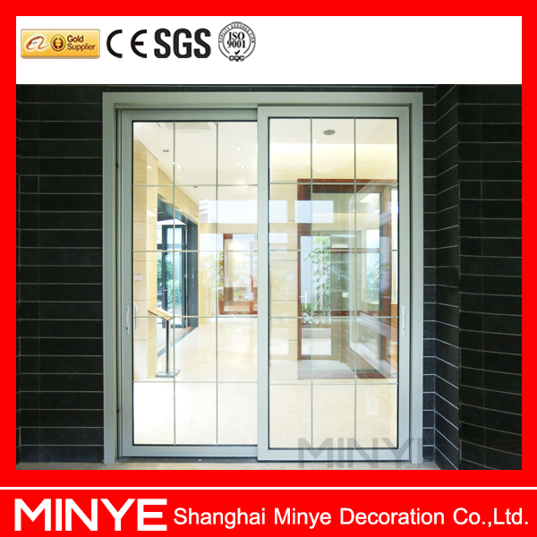 2015 HOT STYLE ALUMINUM PROFILE SLIDING WINDOW ,ALUMINUM DOOR WITH INNER BLINDS BY AUTOMATIC CONTROL