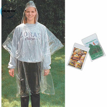 Factory supply cheap price Disposable Children or women used PE /PVC Rain Poncho/Raincoat