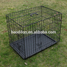 Wholesale hot folding iron wire mesh pet dog cage
