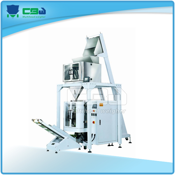 Potato chips Linear weigher & vertical-form-fill-seal packing machine system