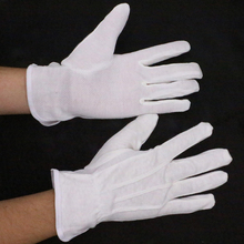 Cotton Safty Gloves Work With Rubber Grip Dots Wholesale Work Gloves