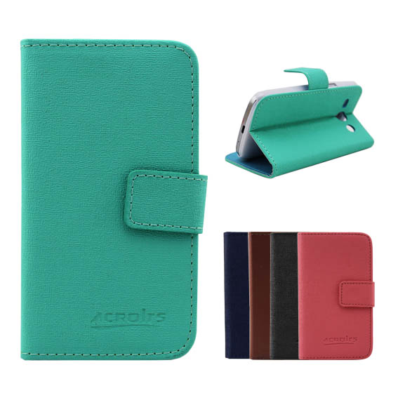 Hot sale leather case for htc one dual 802t/ 802d/ 802w