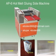 Hot Melt Glue adhesive Gluing APET box machine,PET box Gluing Machine