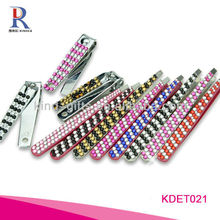 Colorful Rhinestone Fine Tweezers In Beauty And Personal Care