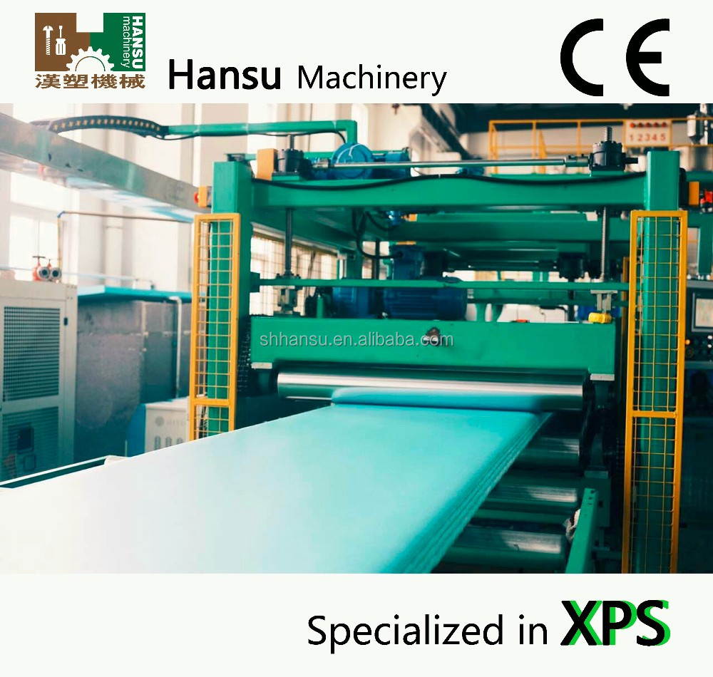 xps polystyrene foam sheet machine with good price