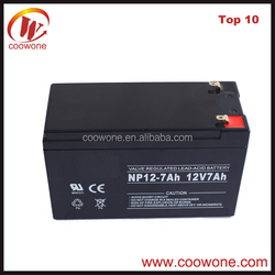 Best Quality Ups Battery 12v 7ah Lead Acid Battery