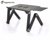 Portable Adjustable Aluminum Folding Laptop Stand for Bed