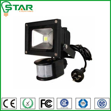 pir sensor outdoor IP65 high power led flood light