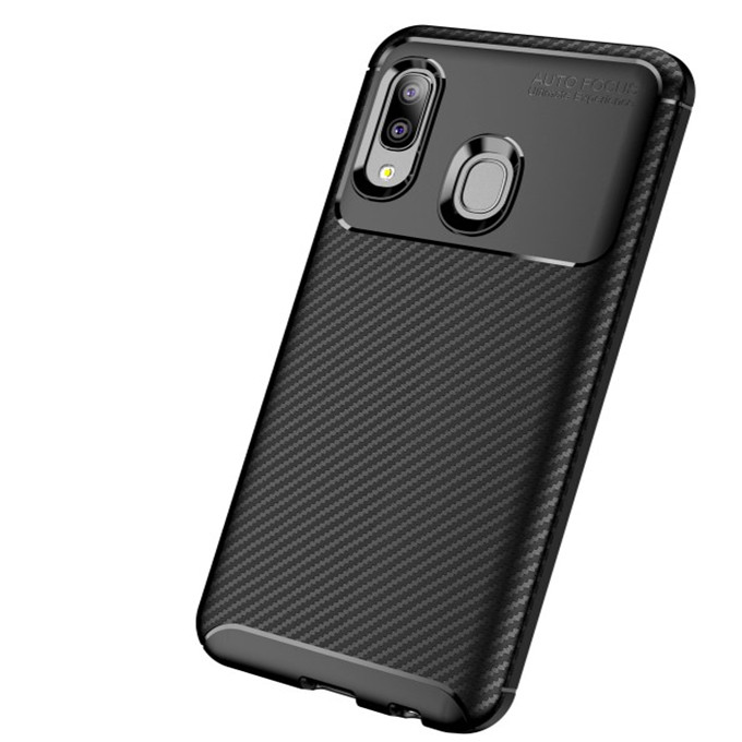 Factory Original Silicone Beetle Carbon Fiber Tpu Cell Phone Cover Case for Oppo Reno <strong>Z</strong>/Realme <strong>1</strong>/A9