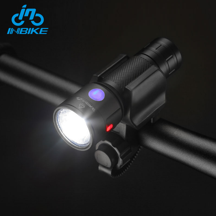 INBIKE Bright Headlight LED Bicycle Front Light Flashlight With Usb