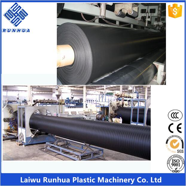 HDPE geomembrane pond liner machine
