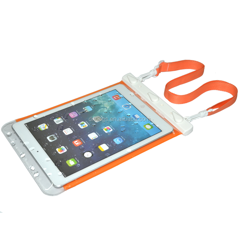 Hot Sale Floating TPU tablet waterproof case for 9.7 inch tablet