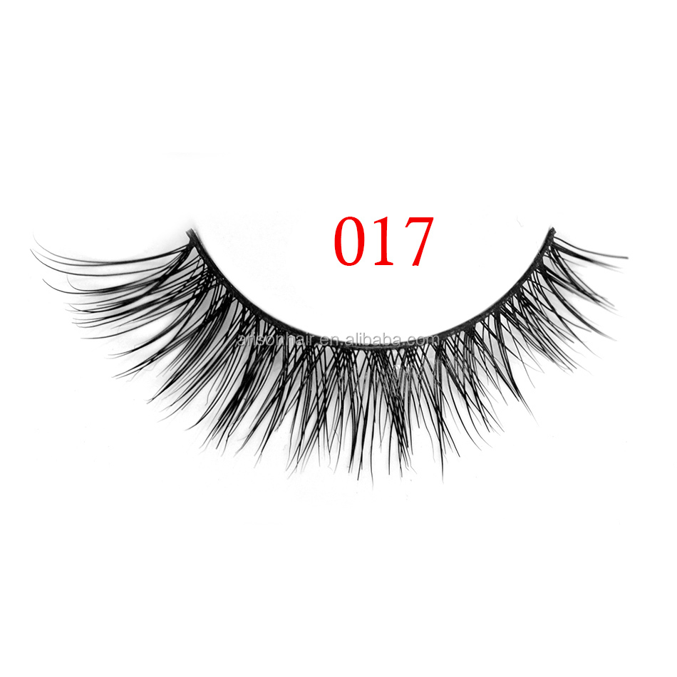 natural mink fur eye lashes strip, wholesale false eyelash with own brand packaging box