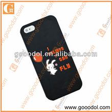 2013 funny silicone cover for iphone5