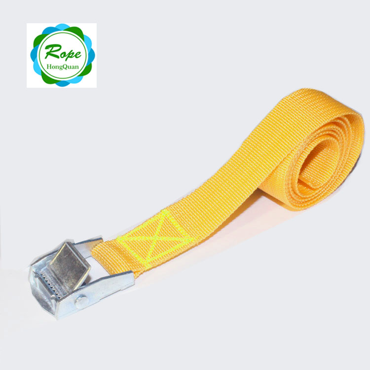 Factory price 25mm stainless steel cam buckle tie down lashing strap