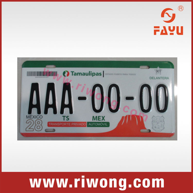 Car license plate, Car plate number