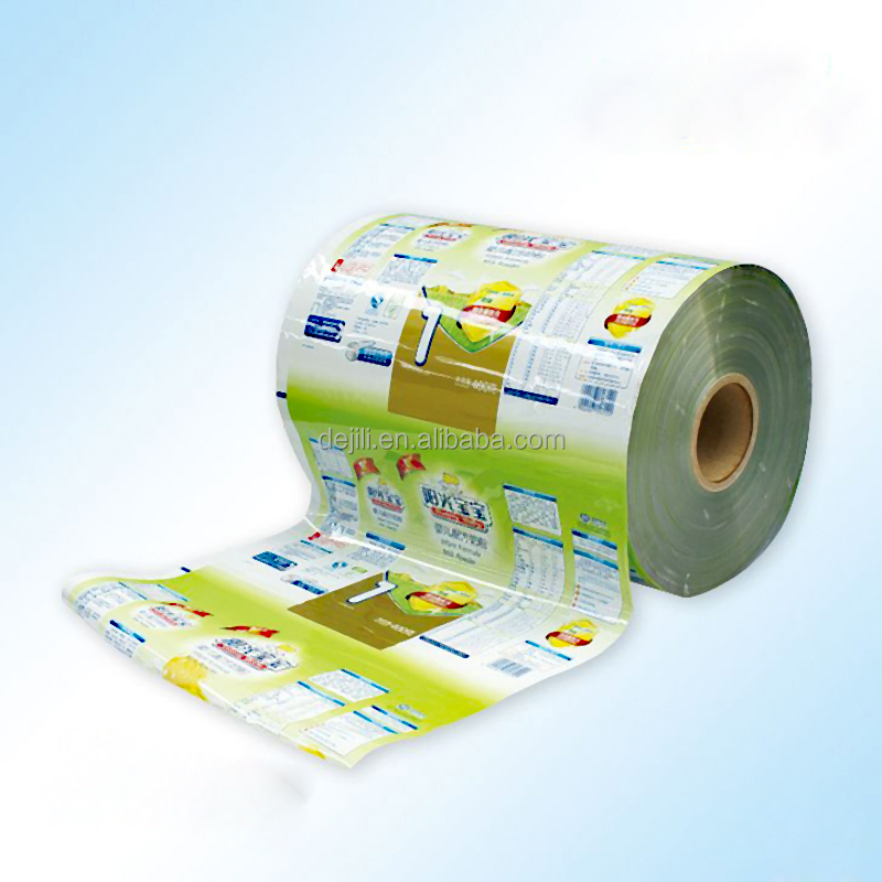 china alibaba gold supplier supply high quality plastic baby diapers packaging bag film roll with custom design printing