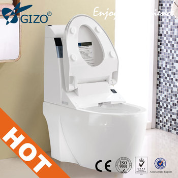 JJ-0807ZQ Smart Toilet With Auto Flush,Voice Alarm And seat Sensor