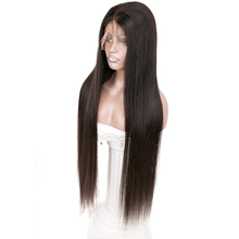 10a grade peruvian 40 inch full lace human cuticle aligned raw virgin hair 100% natural wigs