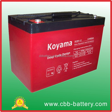 12V85AH Deep Cycle Battery For Commercial Floor Sweepers& Scrubbers