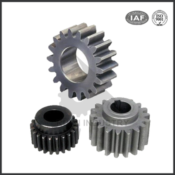 Precision small stainless steel spur gear, metal double spur gear
