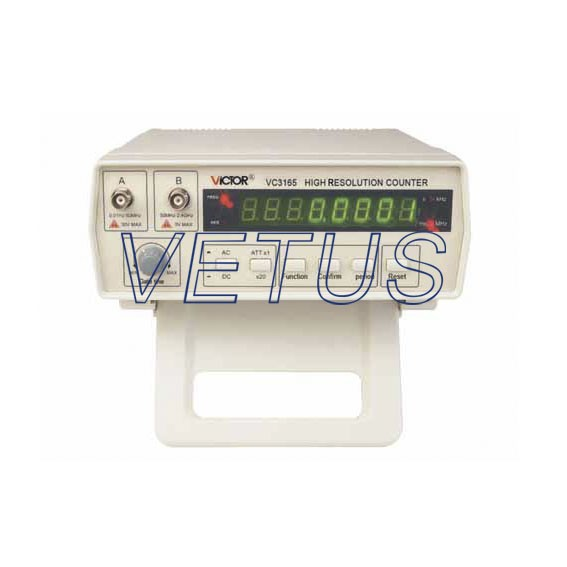VC3165 bench top digital frequency counter