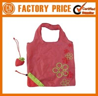 Promotional Cute Unique Folding Shopping Fruit Shaped Bags