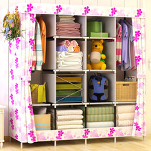 Modern Home Storage Folding Wardrobe Thicken Non woven Cabinet