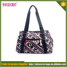 Factory supplier designer hot famous women branded handbag made in china
