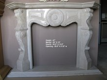 Handcarved Marble Fireplace Mantels