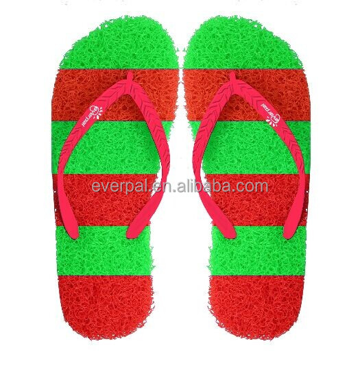 High Quality Rubber Sole Grass Beach Flip Flop Slippers