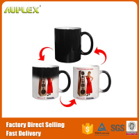 High Quality Ceramic Color Changing Coffee Cup 3d Sublimation Mug