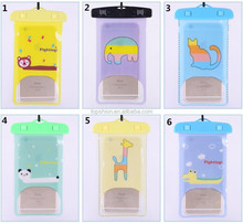 Cartoon Waterproof Underwater Pouch Dry Bag Pack Case Cover For Cell Phone/MP3