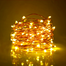 10m 100leds Christmas Firefly Lights LED Copper Wire String Lights