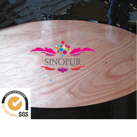 Top quality roulette table design wooden tv table