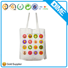 customized cheap outdoor thick canvas shopping tote bag