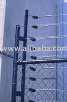 Tension Springs Security Fence