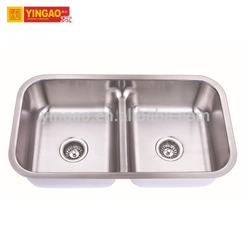 Factory Price Modern Professional 304 Stainless Steel Handmade Kitchen Sink