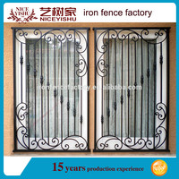 2016 Factory direct price latest simple modern iron window grill design /steel window grill design/house window grill design