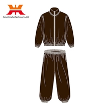 Customized High Quality Exercise Men PVC Sauna Suit Lose Weight